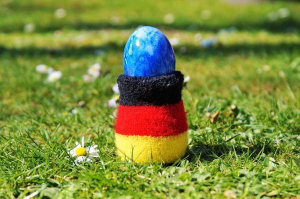 Jajeczny wpis – język niemiecki z jajkiem w roli głównej