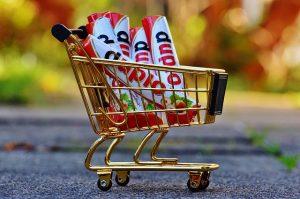 Wózek na zakupy.