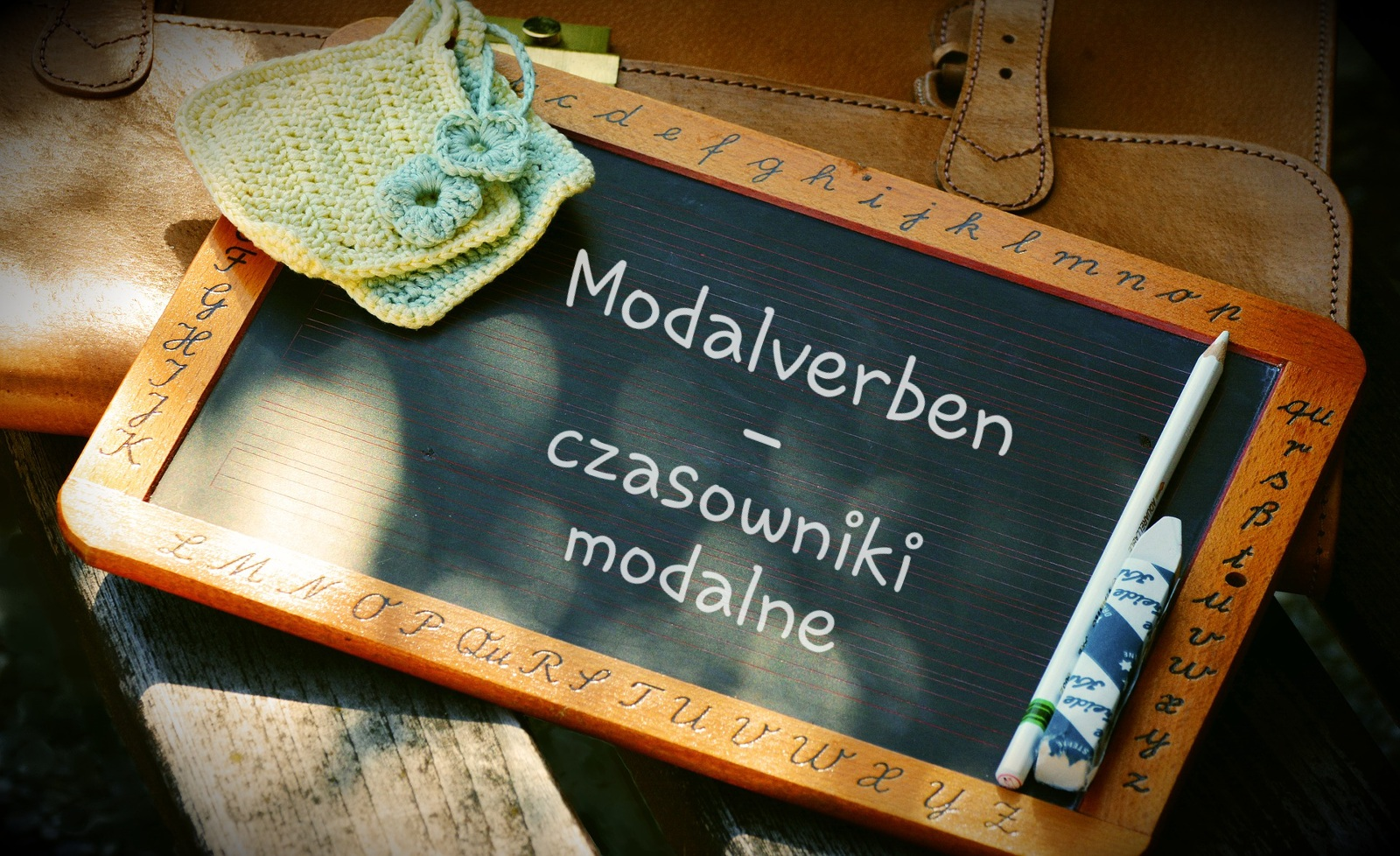 Czasowniki modalne – Modalverben