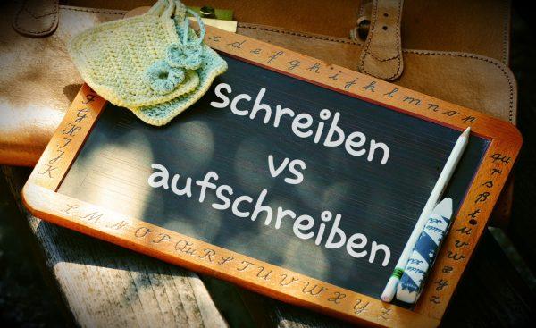 Czasownikowe porady (schreiben czy aufschreiben?)