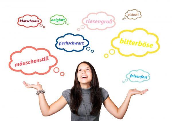 Poznaj przymiotniki złożone w języku niemieckim.